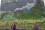Arte en un muro vegetal