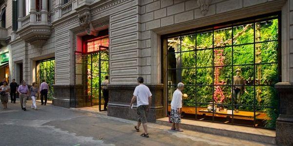 jardin-vertical-tienda-Replay-Barcelona