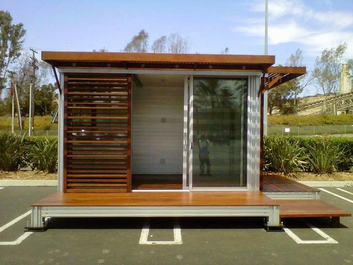 Caseta prefabricada k3 de kithaus for Oficina prefabricada