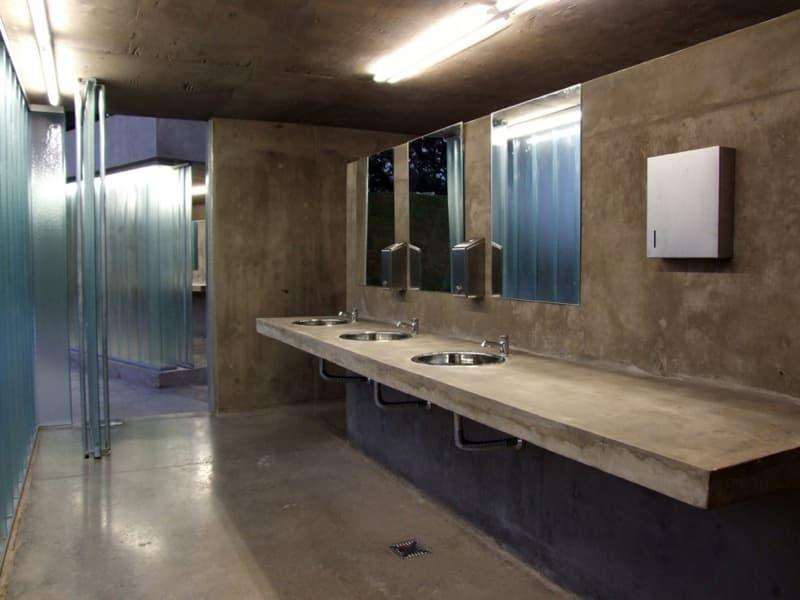 Diseno De Un Baño Publico:Baños públicos en un parque de Rosario (Argentina)