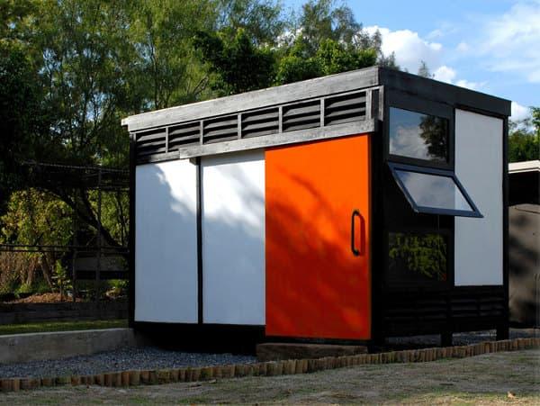 Casa prefabricada m dulo 10x10 para familias pobres de m xico - Casas prefabricadas modulos ...