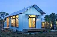 Porch House: casas prefabricadas de Lake|Flato