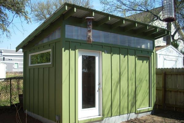 Casetas prefabricadas para el jard n de craftsman shed for Casetas desmontables precios
