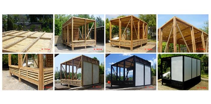 Casa prefabricada m dulo 10x10 para familias pobres de m xico - Modulos de casas ...