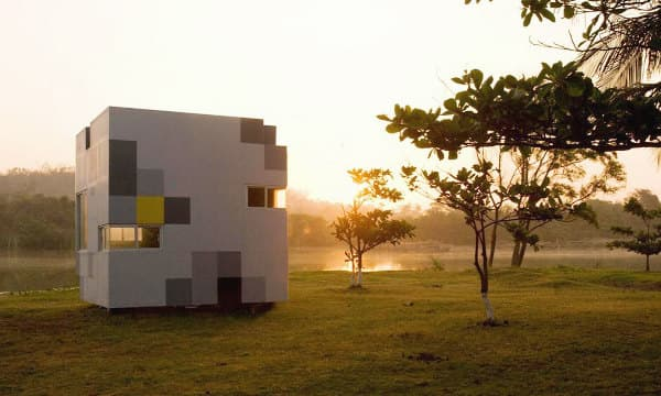 Nano casa prefabricada en un cubo de 3 5 metros - Casas cubo prefabricadas ...