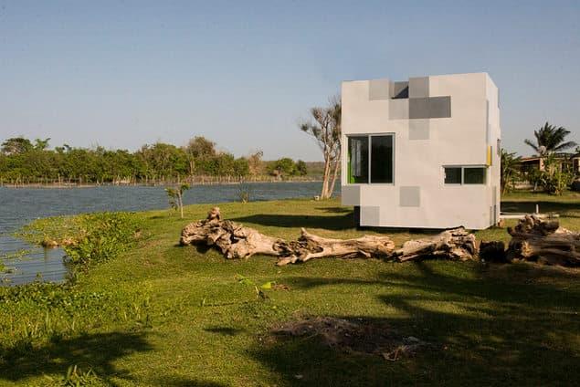 Casas prefabricadas madera casa prefabricada cubo - Casas prefabricadas en las palmas ...