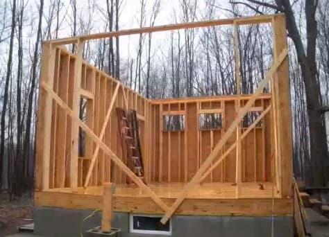 Pin en madera construccion de caba as casas en venta todo - Construccion de cabanas de madera ...