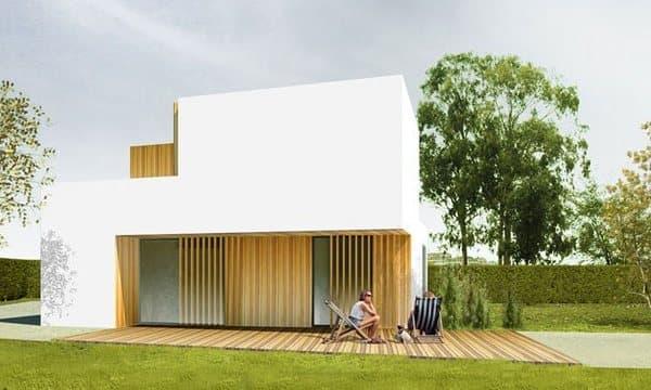 B house casas prefabricadas de modo architecture for Casas prefabricadas madrid