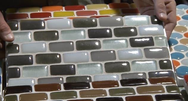 Azulejos Baño Vidrio:Azulejos Vidrio Reciclado (Google imágenes)