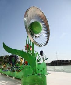 Powe_Flower turbina para producir energía renovable
