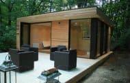 Caseta prefabricada para el jardín, de In.It.Studios