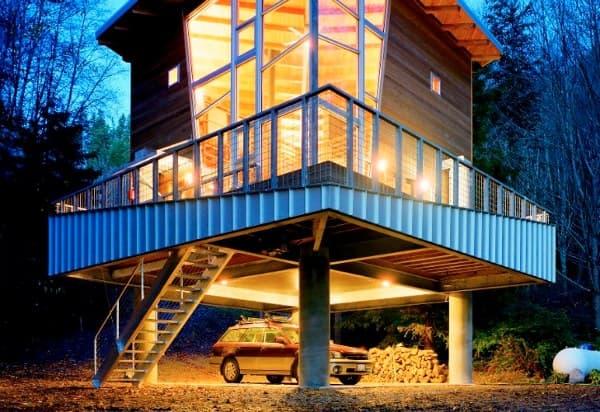 exterior-moderna-cabana-Castanes-Architects
