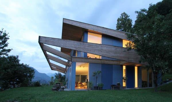 Casa locarno arquitectura sustentable eficiente y con - Casas con placas solares ...