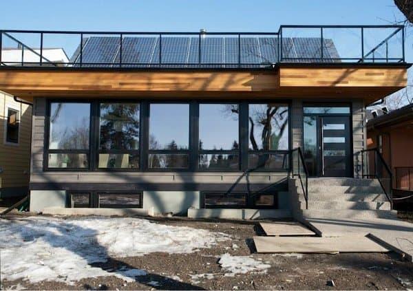 Belgravia green casa ecol gica con placas solares y for Piani casa netti zero