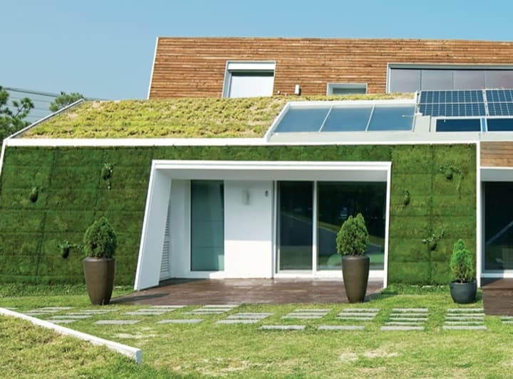 E Green Home Casa Ecol Gica Surcoreana