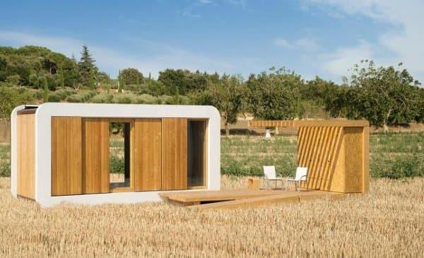 Las casas sostenibles noem ganan premio europeo esp ritu - Casas prefabricadas de madera espana ...