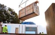 Montaje de una casa prefabricada Breezehouse