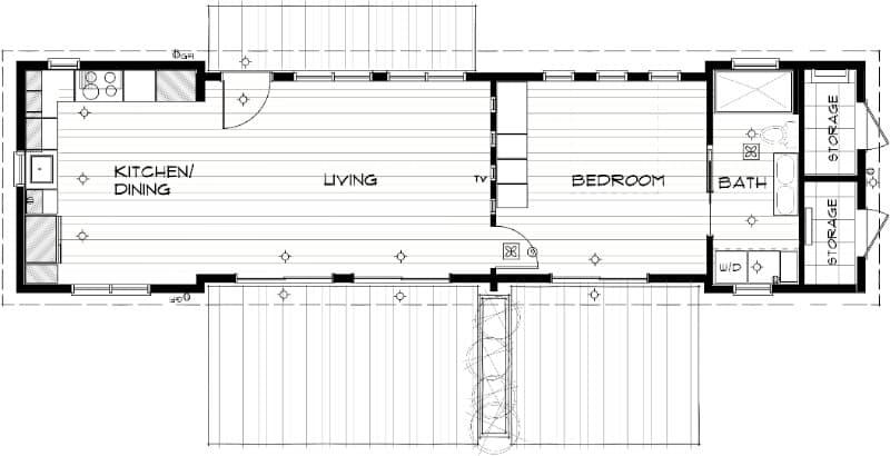 aktiv casa prefabricada de bajo coste de ideabox ikea