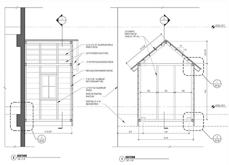 plano-cabaña-madera-colgada-fachada-8
