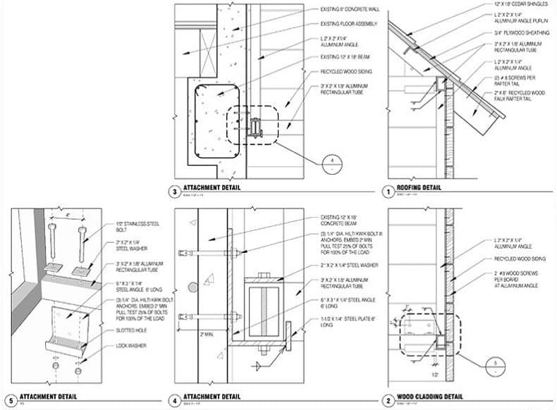 plano-cabaña-madera-colgada-fachada-9