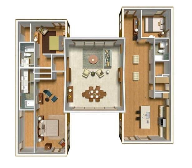 Casas prefabricadas planos y modelos en 3d imagui - Planos casas modulares ...