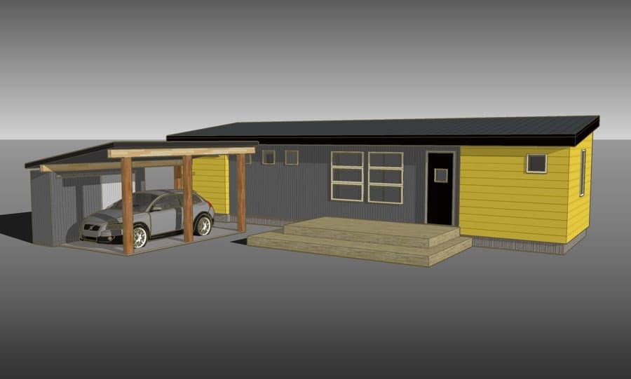 Aktiv casa prefabricada de bajo coste de ideabox ikea - Ikea casa prefabbricata ...