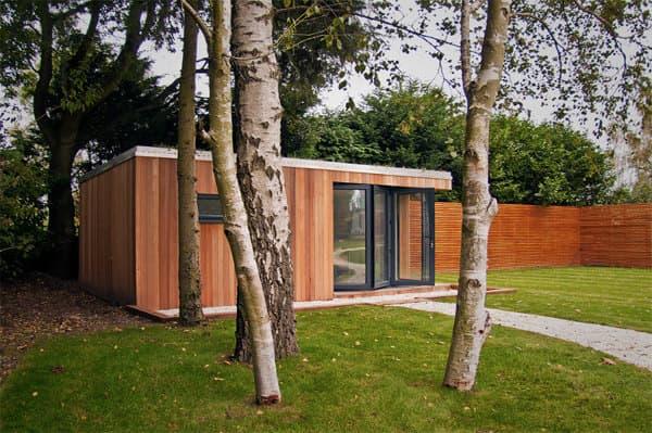 Modernas casetas prefabricadas de studioni - Casetas prefabricadas para jardin ...