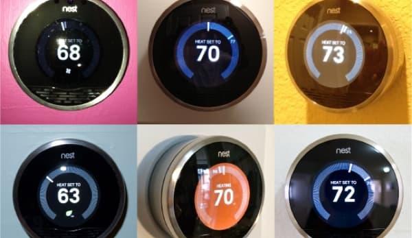 Actualización de software para el termostato Nest