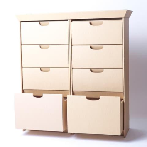Smartdeco colecci n de muebles hechos con cart n plegado - Muebles de carton ...