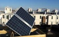 Placas fotovoltaicas domésticas con seguimiento solar