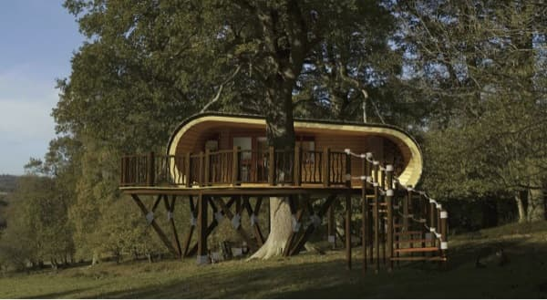 Casas prefabricadas madera archives arquitectura - Cabanas de madera en arboles ...