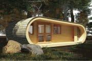 Cabaña prefabricada EcoPerch