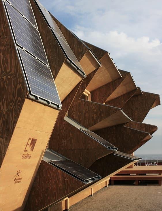 Casa solar 2 0 pabell n de endesa para la smartcity de - Solar barcelona ...