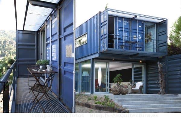 Casa en el tiemblo espa a con 4 contenedores - Casa container espana ...
