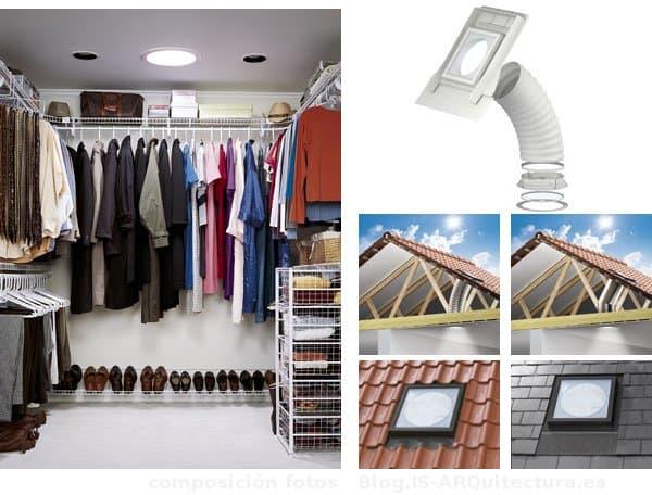 vestidor-con-Tubo-Solar-Velux