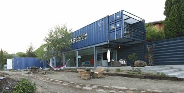 Casa en el tiemblo espa a con 4 contenedores - Casas contenedores espana ...