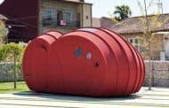 Shelter ByGG: caseta prefabricada de corcho