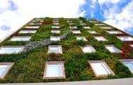 Jardín vertical en el Hotel B3 Virrey (Bogotá)