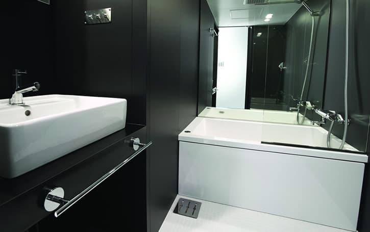 Subaco m dulo compacto con cocina ba o loft en 4m2 - Modulos de bano ...