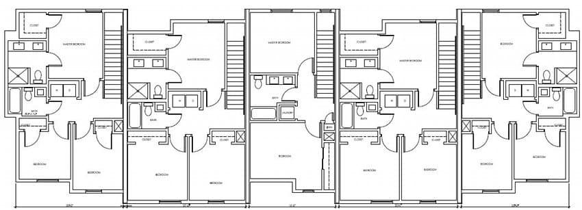 plano-planta-alta-casas-adosadas-energia-cero-Dunedin