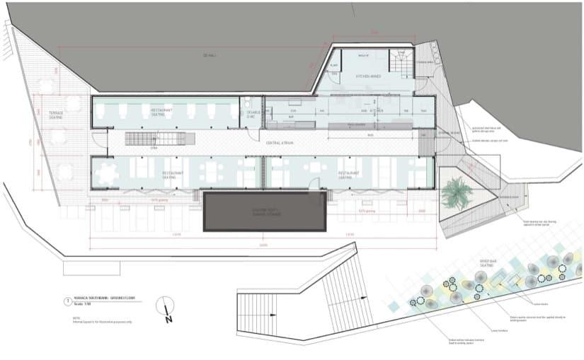 Wahaca restaurante construido con 8 contenedores for Restaurante arquitectura