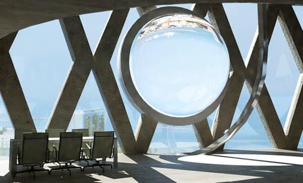 BETATORICS-esfera-solar-integrada-edificio