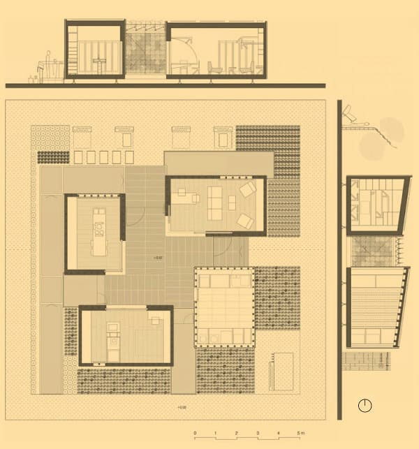 Pin planos casas patio sydney australia ajilbabcom portal on pinterest - Planos de casas con patio interior ...