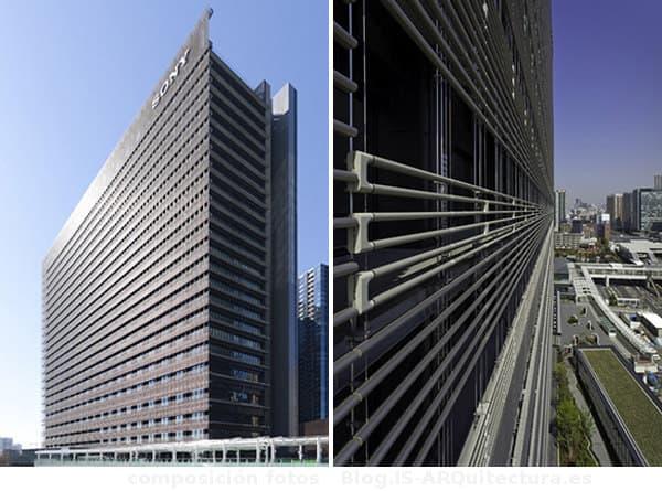 edificio-Sony-fachada-Bioskin-detalle