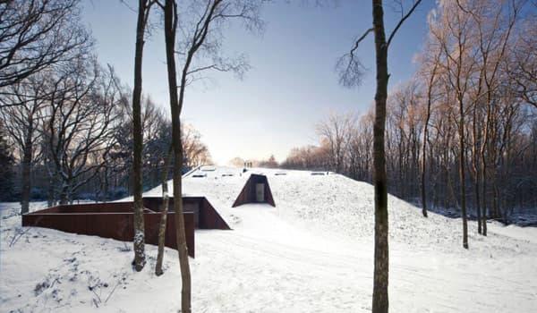 exterior-casa-Dutch_Mountain semienterrada