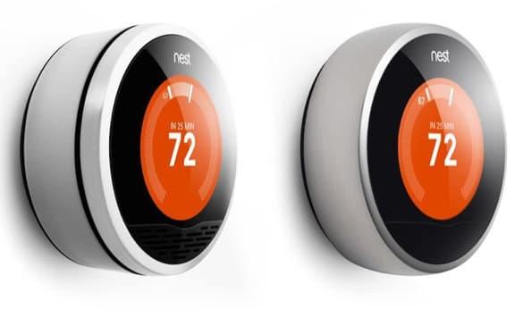 1ª y 2ª generación del termostato Nest