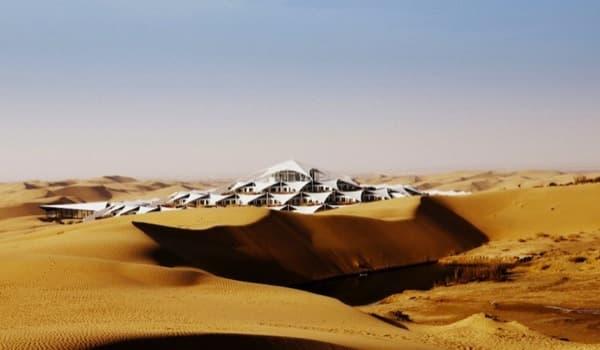 Hotel lotus arquitectura para un desarrollo sostenible en for Arquitectura prefabricada