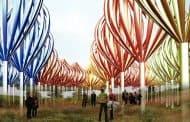 The Whirlers: bosque de turbinas eólicas