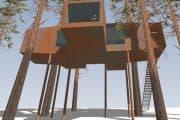 Five Leaf Clover: otra habitación para Treehotel