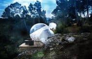 Habitaciones Bubbles en el jardín del Château de Malmaison